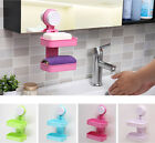 Creative Home Bathroom Storage Rack Wall Mounted Holder Shelf with Suction Cup