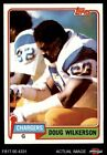 1981 Topps #447 Doug Wilkerson -  Chargers NM/MT $0.99 USD