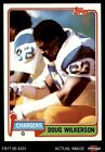 1981 Topps #447 Doug Wilkerson Chargers NM/MT $0.99 USD