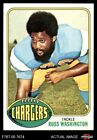 1976 Topps #38 Russ Washington Chargers NM $8.25 USD