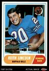 1968 Topps #19 Keith Lincoln -  Bills EX/MT $3.25 USD