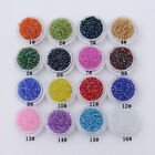 30000Pcs 2mm Glass Beads Seed Glitter Round Spacer For Jewelry Making Shiny