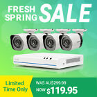Zmodo HD 4CH/8CH NVR PoE Outdoor Night Vision CCTV Home Security Camera System