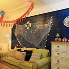 Nautical Fishing Net Seaside Wall Beach Party Sea Shell Bedroom Home Art Decor