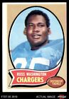 1970 Topps #206 Russ Washington Chargers VG $1.1 USD