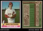 1976 Topps #431 Dick Ruthven Phillies NM/MT