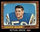 1966 Topps #118 Chuck Allen Chargers EX $6.75 USD