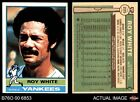 1976 O-Pee-Chee #225 Roy White Yankees EX