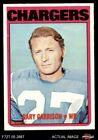 1972 Topps #192 Gary Garrison Chargers EX/MT $2.0 USD