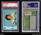 1972 Topps #100 Joe Namath Jets PSA 7 - NM