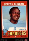 1971 Topps #148 Speedy Duncan Chargers VG $0.99 USD