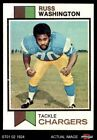 1973 Topps #199 Russ Washington Chargers NM $4.5 USD on eBay