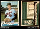 1979 O-Pee-Chee #10 Dave Goltz Twins EX MT