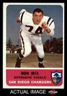 1962 Fleer #82 Ron Mix -  Chargers NM $57.5 USD