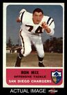 1962 Fleer #82 Ron Mix Chargers NM $57.5 USD