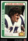 1978 Topps #360 Louie Kelcher Chargers NM/MT $5.25 USD on eBay