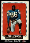 1964 Topps #157 Earl Faison Chargers EX/MT $5.25 USD on eBay