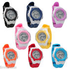 Kids Mingrui Cool Children Waterproof Digital Alarm Date Sport Wristwatch