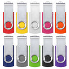 10/20/50/100x Lots 1GB - 32GB 64-512MB USB Flash Drives Memory Stick Pen U Disk