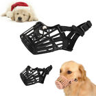 Adjustable Nylon Basket Cage Muzzle for Pet Dog Fashion Muzzle #1 to #7