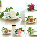 Chic Artifical Fake Rose Weeding Party Home Decoration Faux Flowers Home Decor #
