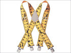 """KUNY'S HEAVY DUTY 2"""" (50mm) WIDE BRACES WITH CLIPS - Various Colours & Styles"""