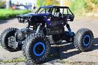 RECHARGEABLE 4WD ROCK CRAWLER RADIO REMOTE CONTROL RALLY CAR 2.4GHZ OFF ROAD