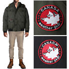 Canada Weather Gear Men's Heavy Weight Faux Goose Down Jacket Coat