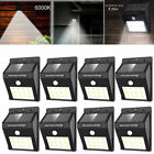 12 LED Solar Power PIR Motion Sensor Wall Light Outdoor Garden Waterproof Lamp