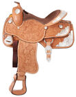 Silver Royal Premium Grandview Silver Show Saddle - Berry Edge Trim
