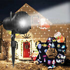 Christmas Laser Fairy Light Projection Projector Outdoor Lawn Landscape LED Lamp