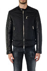 Giubbotto Giaccone Dsquared2 Jacket % Made In Italy Uomo Nero S74AM0758-S4330-