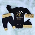 Christmas Toddler Baby Boy Girls Romper Pants Leggings Outfits Clothes Set