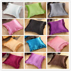 Colorful Comfortable Solid Pair Cushion Cover Throw Pillow Case Home Decor Linen