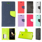 For ZTE Blade Z Max Leather 2 Tone Wallet Case Pouch Flip Cover + Screen Guard