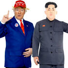 Politcal Mens Fancy Dress President Dictator Novelty Funny Adult Costume Outfits