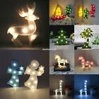 3D LED Animal Shape String Fairy Night Light Wine Bottle Lamp Batter EN24H 01