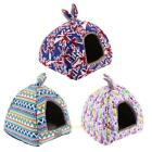 Pet Dog Cat Bed House Puppy Kennel Cave Nest Igloo Pad Warm Cozy Cushion Cave