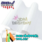 *Premium Gloss Glossy White Car Vinyl Wrap Sticker Decal Air Release Bubble Free
