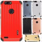 For ZTE Blade Z Max Rubber IMPACT CO HYBRID Case Skin Phone Cover Accessory