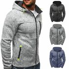 Men's Slim Hoodie Winter Warm Hooded Sweatshirt Coat Jacket Outwear Sweater AAA