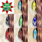 NEW HANDMADE BEADED FASHION MULTI-COLOR DROP/DANGLE HOOK EARRINGS NICKLE FREE image