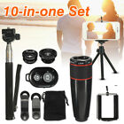 10 in 1 Accessories Phone Camera Lens Top Travel Kit For Mobile Smart Phone