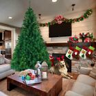 5.5'/6'/7' Feet Unlit Artificial Christmas Pine Tree with Sturdy Mental legs