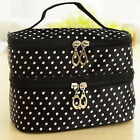 US Multifunction Travel Cosmetic Bag Makeup Case Organizer Pouch Toiletry GIFT
