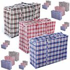 NEW REUSABLE LAUNDRY STORAGE SHOPPING BAGS ZIPPED STRONG SMALL MEDIUM LARGE X