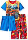 Blaze and The Monster Machines Toddler Boys Pajama 3pc Set Size 2T 3T 4T