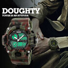 Military S-shock Camouflage Sports Watch LED Digital Waterproof Alarm Watches DB