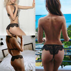 Women Lady Sexy Lingerie Lace Briefs G-string Underwear Panties Thongs Knickers
