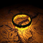 Fashion Men's Lord of the Rings The One Ring Lotr Stainless Steel Ring Size 6-12 image